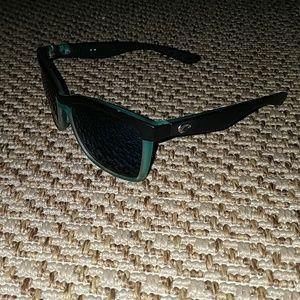 1505169b37 Oakley Black Green and Blue Plastic Sunglasses
